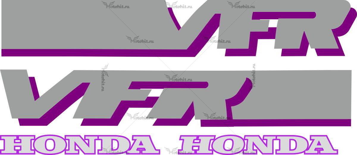 Комплект наклеек Honda VFR