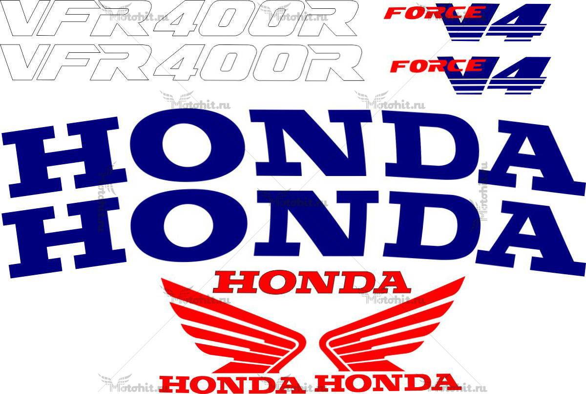 Комплект наклеек Honda VFR-400-R