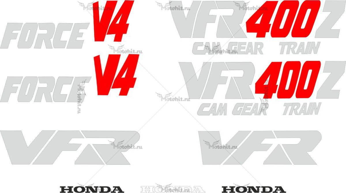 Комплект наклеек Honda VFR-400-Z 1986-1987
