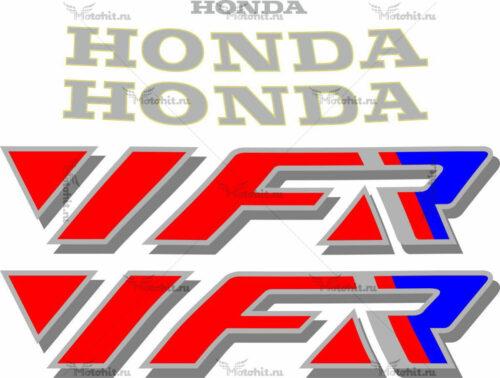 Комплект наклеек Honda VFR-750 1990