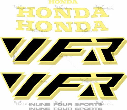 Комплект наклеек Honda VFR-750 1990 GOLD