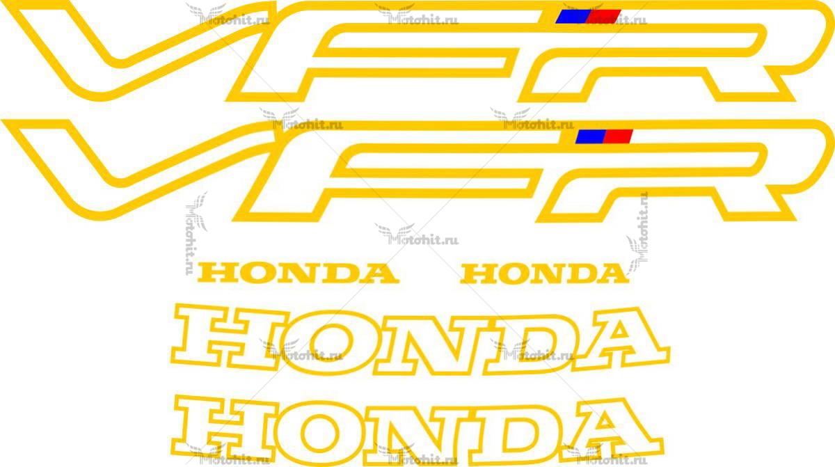 Комплект наклеек Honda VFR-750 1991