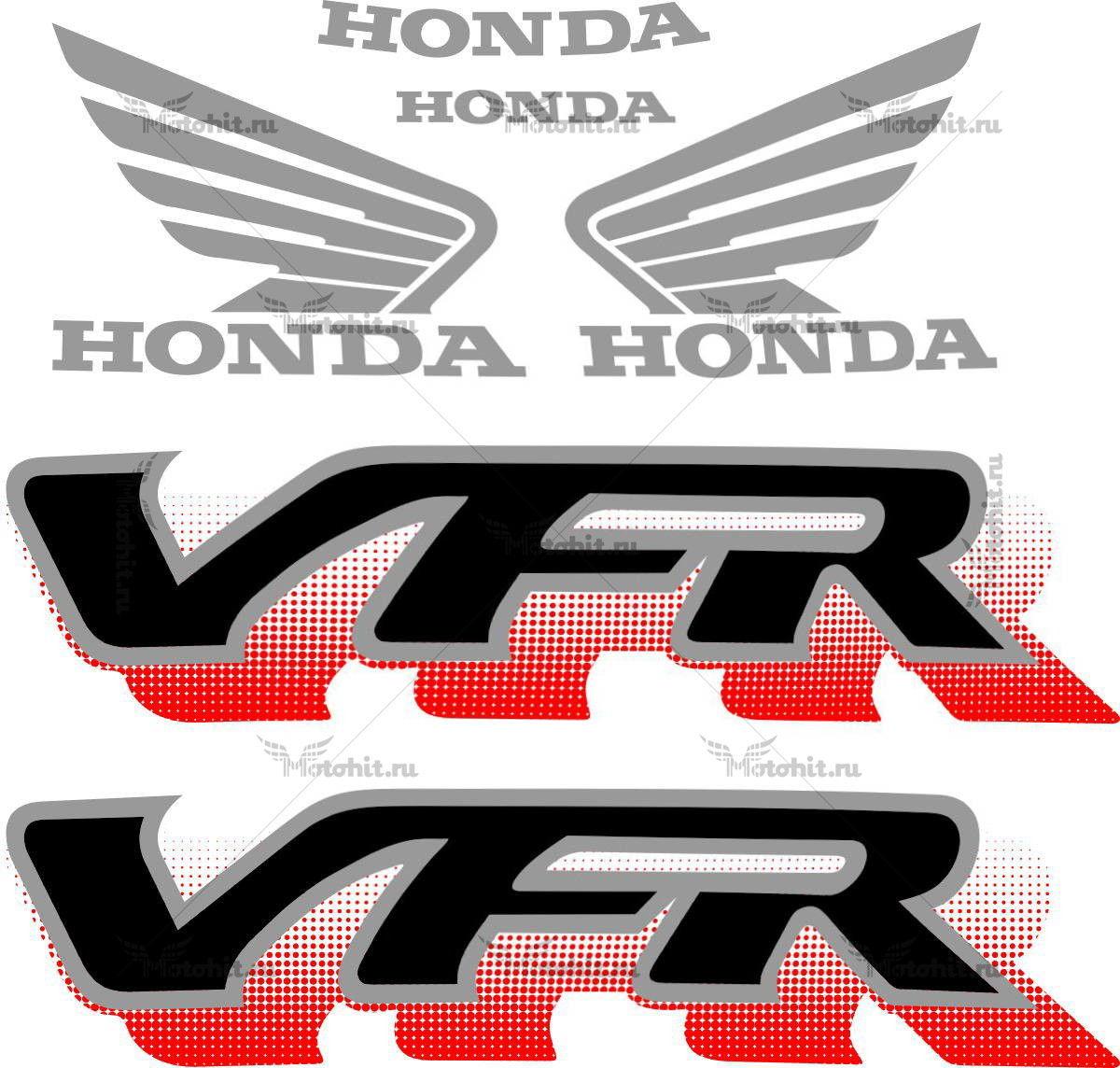Комплект наклеек Honda VFR-750 1994-1997