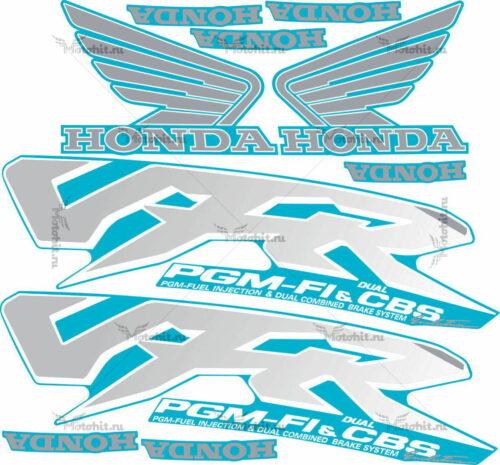 Комплект наклеек Honda VFR-800 1998-2001