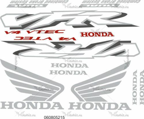 Комплект наклеек Honda VFR-800 2002-2003 VTEC