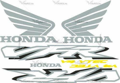 Комплект наклеек Honda VFR-800 2002 RED
