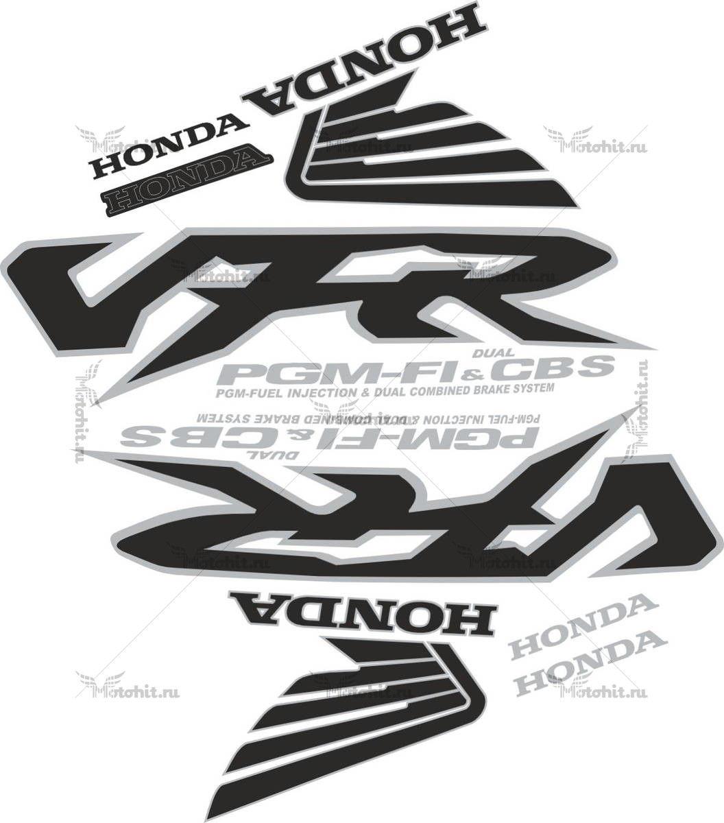 Комплект наклеек Honda VFR-800i 1998-2001