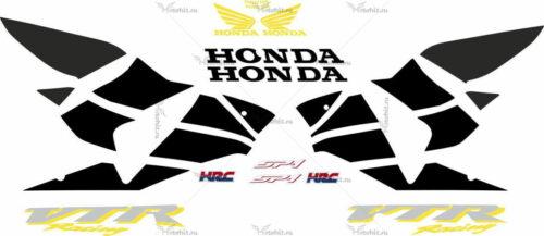 Комплект наклеек Honda VTR-1000 2000-2001 SP1-GOLD