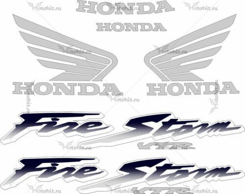 Комплект наклеек Honda VTR-1000-F 1997-2005 DARK