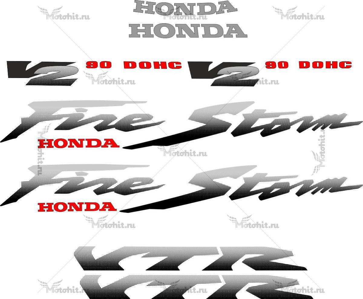 Комплект наклеек Honda VTR-1000-F 1997-2005 LIGHT