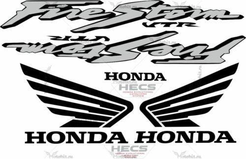 Комплект наклеек Honda VTR-1000-F 2000-2003
