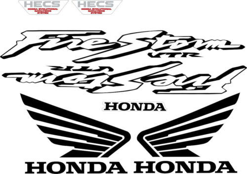 Комплект наклеек Honda VTR-1000-F 2000-2003 HECS