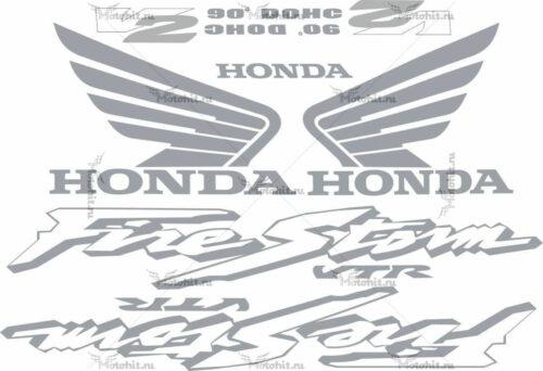 Комплект наклеек Honda VTR-1000-F 2001 FIRESTORM