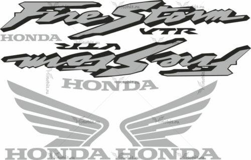 Комплект наклеек Honda VTR-1000-F 2003 FIRESTORM