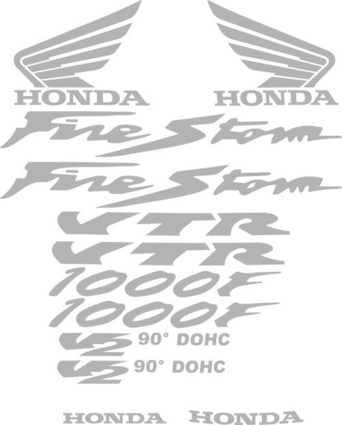Комплект наклеек Honda VTR-1000-F FIRESTORM