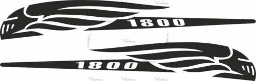 Комплект наклеек Honda VTX-1800 2001-2008