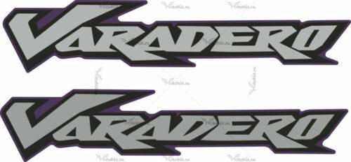 Комплект наклеек Honda XL-125 XL-1000 VARADERO 2007-2009