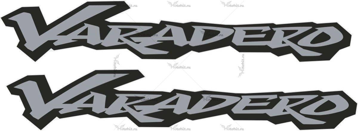 Комплект наклеек Honda XL-125 XL-1000 VARADERO 2003