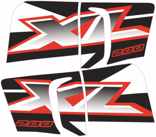 Комплект наклеек Honda XL-200 2006
