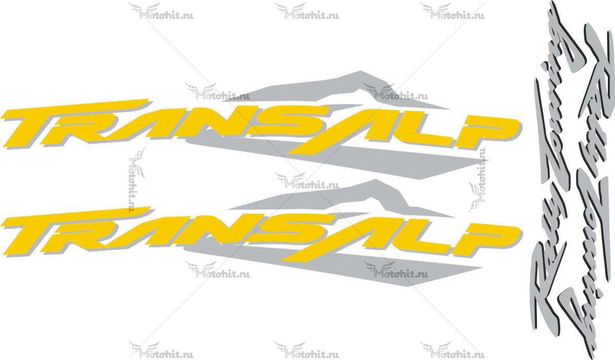 Комплект наклеек Honda XL-650-V TRANSAL 2003-2004