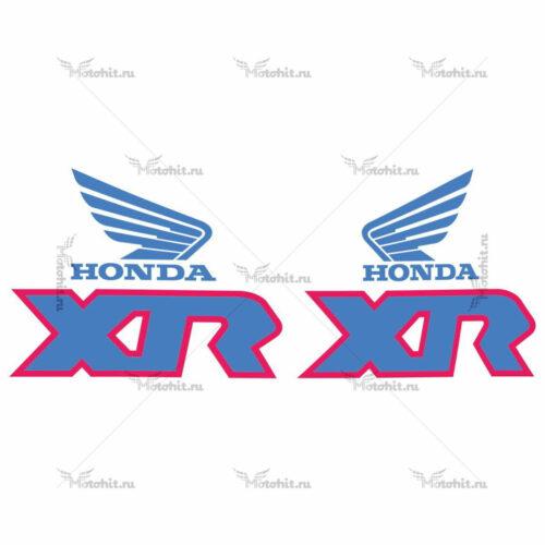 Комплект наклеек Honda XR-100 1991