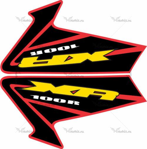 Комплект наклеек Honda XR-100 2001-2004