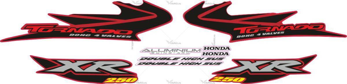 Комплект наклеек Honda XR-250 2004