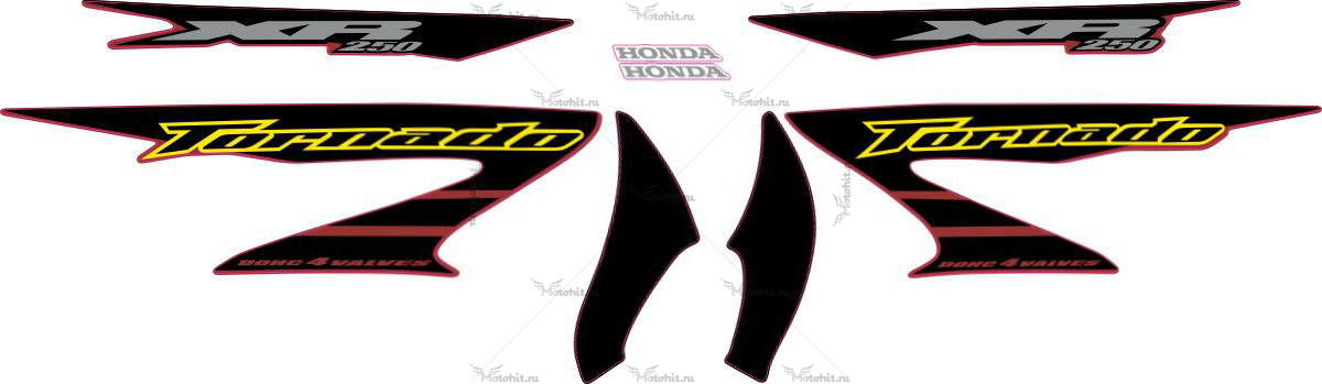 Комплект наклеек Honda XR-250 2006