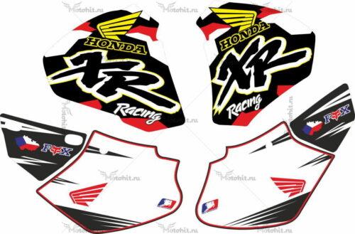 Комплект наклеек Honda XR-400 1998