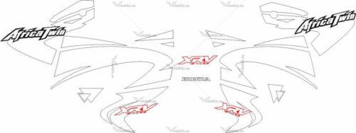 Комплект наклеек Honda XRV-750 2000