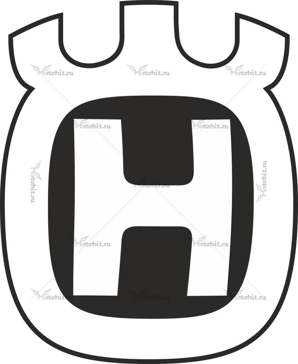 Комплект наклеек HUSQVARNA LOGO