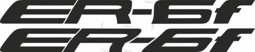Наклейка Kawasaki ER-6F COLOR