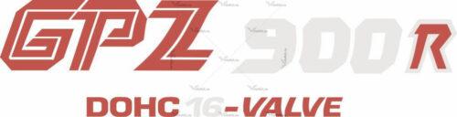 Наклейка Kawasaki GPZ-900-R 2