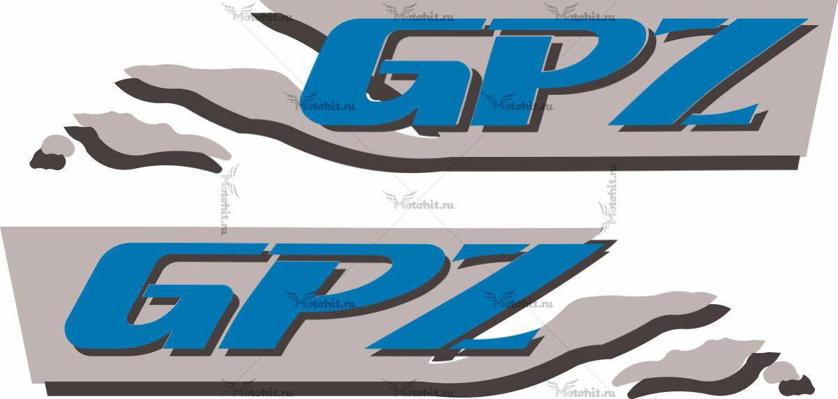 Наклейка Kawasaki GPZ-900-R 6