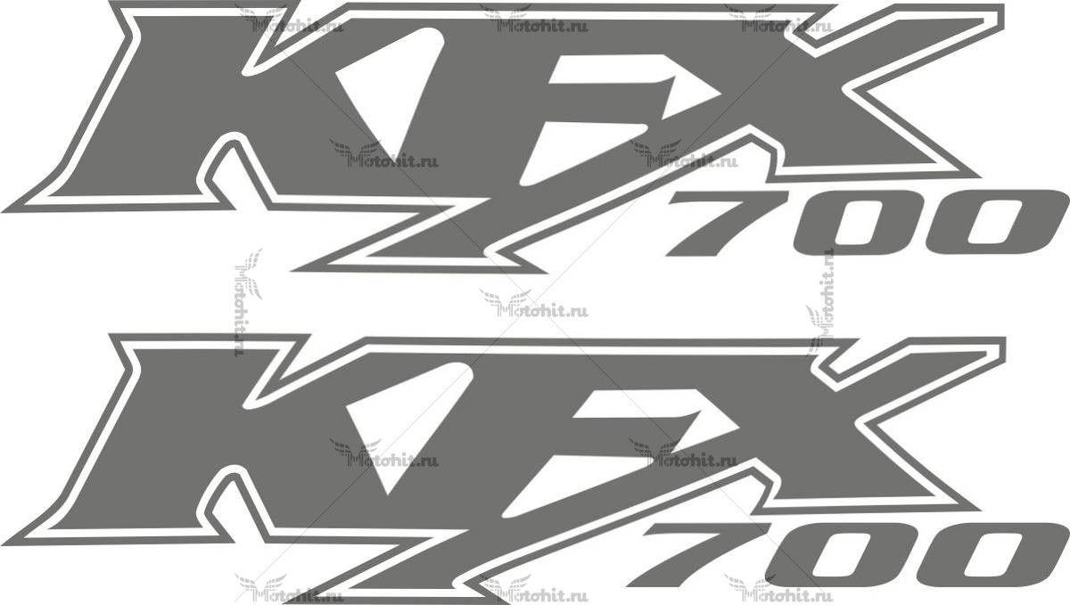 Наклейка Kawasaki KFX-700
