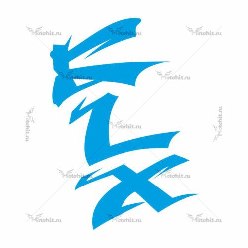 Наклейка Kawasaki KLX