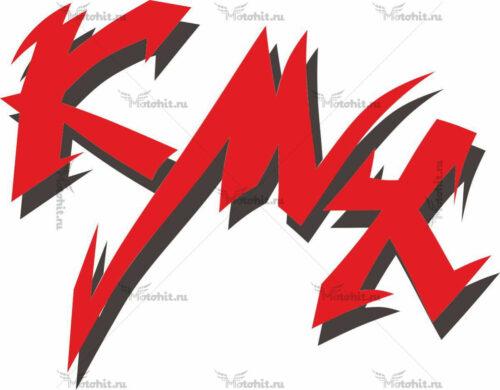 Наклейка Kawasaki KMX