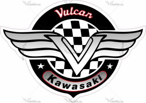 Наклейка Kawasaki VULCAN