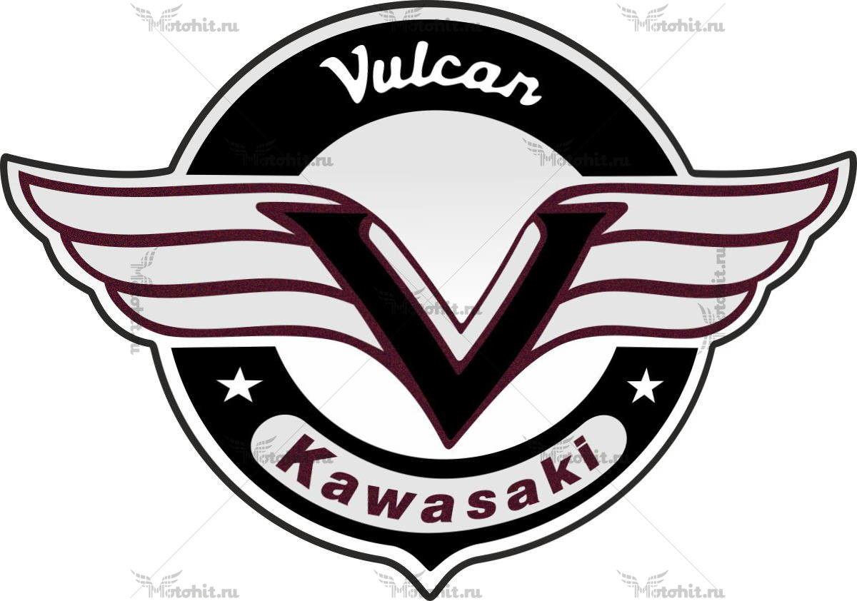 Наклейка Kawasaki VULCAN-500