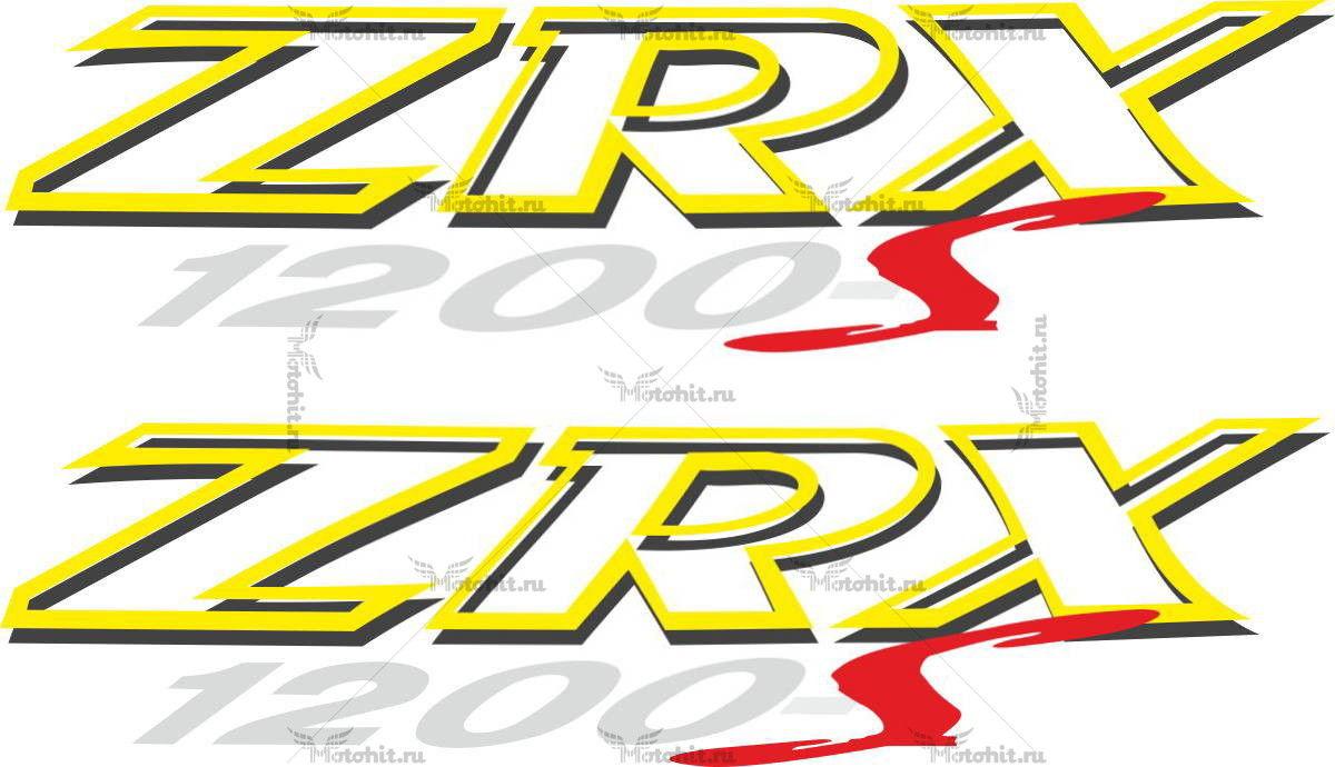 Наклейка Kawasaki ZRX-1200