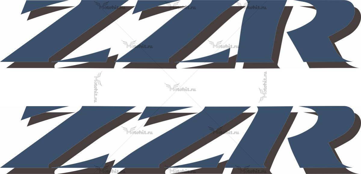 Наклейка Kawasaki ZZR 2