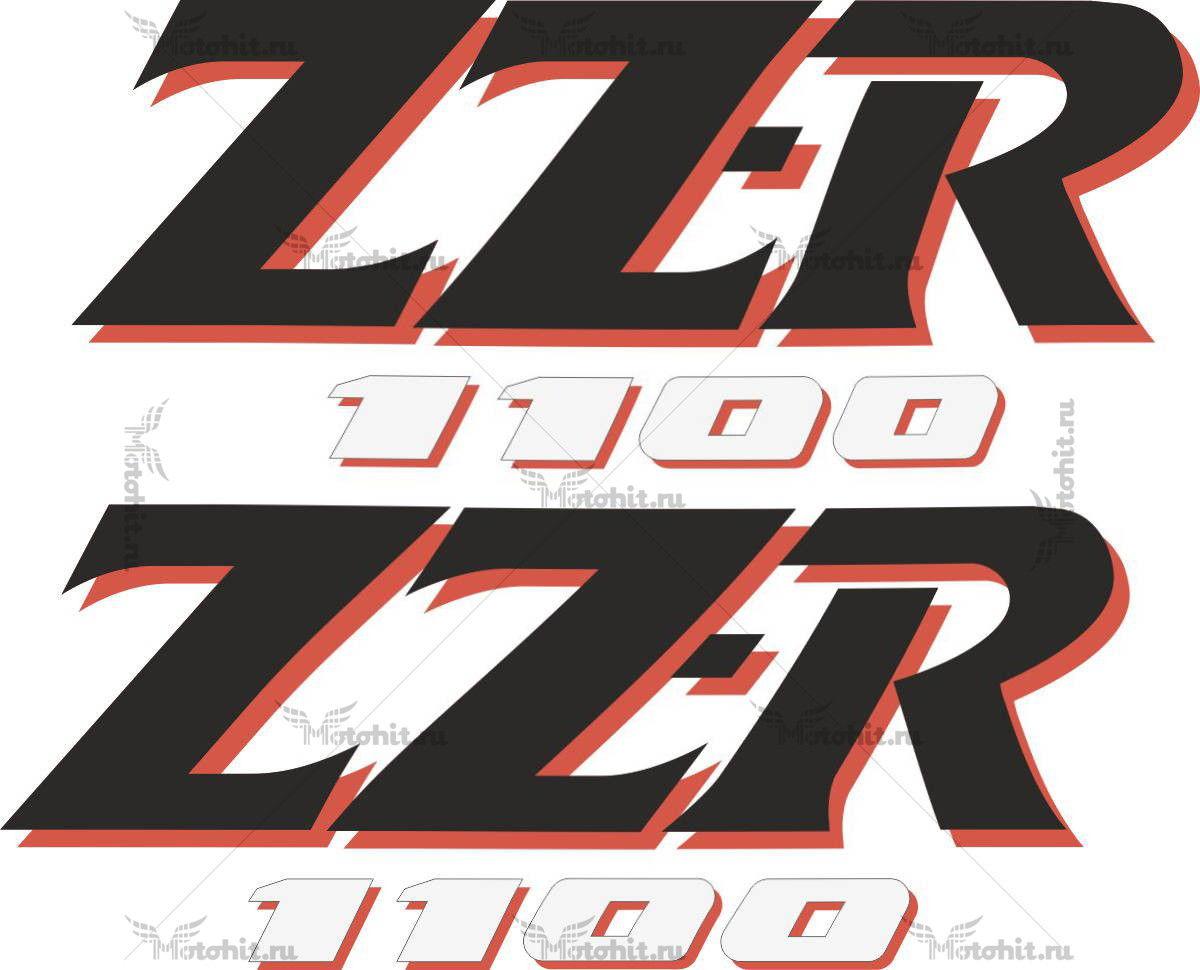 Наклейка Kawasaki ZZR-1100