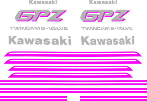Комплект наклеек Kawasaki GPZ-500