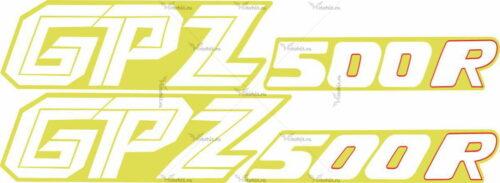 Комплект наклеек Kawasaki GPZ-500-R