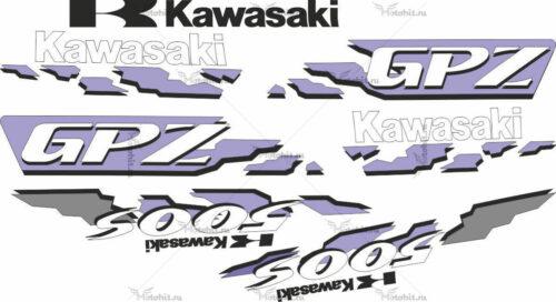 Комплект наклеек Kawasaki GPZ-500-S 1994 SET