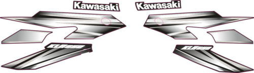 Комплект наклеек Kawasaki KLR-650