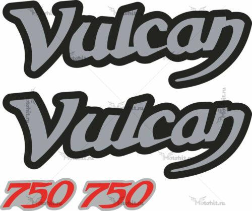 Комплект наклеек Kawasaki VN-750 Vulcan 2001+