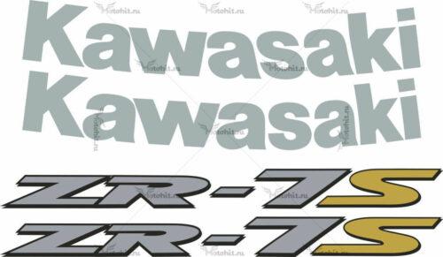 Комплект наклеек Kawasaki ZR-7-S 1999-2003