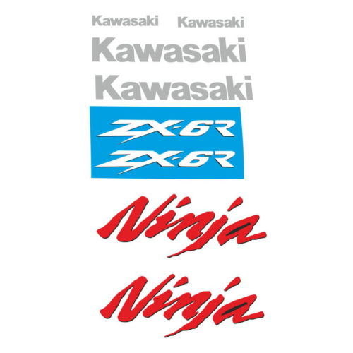 Комплект наклеек Kawasaki ZX-6R 1998