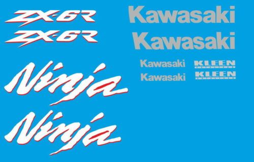 Комплект наклеек Kawasaki ZX-6R 2000